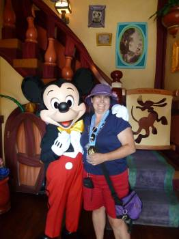 More magical than meeting Mickey Mouse?