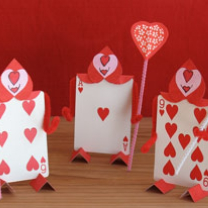 Alice In Wonderland Card Soldiers Disney With Our Favorite