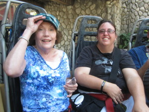 Two great moms - My mom, and my best friend, Rhonda